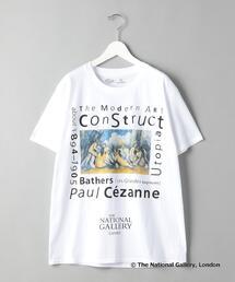 【別注】<TAGS WKGPTY>× <THE NATIONAL GALLERY> Cezanne /Tシャツ