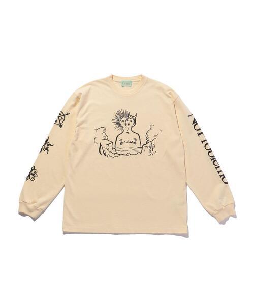 <ARIES> SUN&MOON LS TEE/Tシャツ