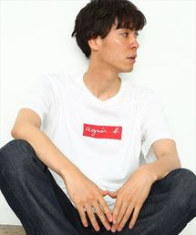 agnes b.(アニエスベー)の【agnes b.  pour ADAM ET ROPE' 】BOX LOGO T-shirts(Tシャツ/カットソー)