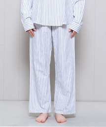 <MAGEE>STRIPE NIGHT PANTS/パンツ.