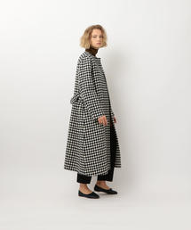 <Steven Alan>∴BLOCK CHECK REVER COAT/コート