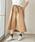 AMERICAN HOLIC(アメリカンホリック)の「・ウエストリボン裾フレアスカート(スカート)」 ベージュ