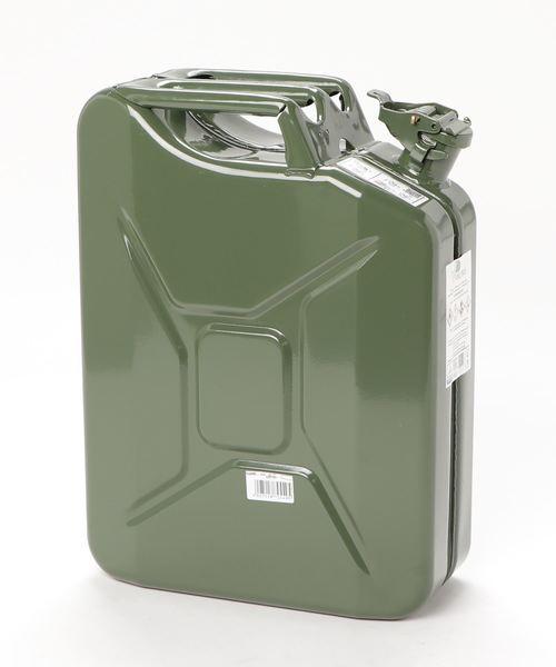 【 hunersdorff / ヒューナースドルフ 】Metal Kanister CLASSIC 20L CUR