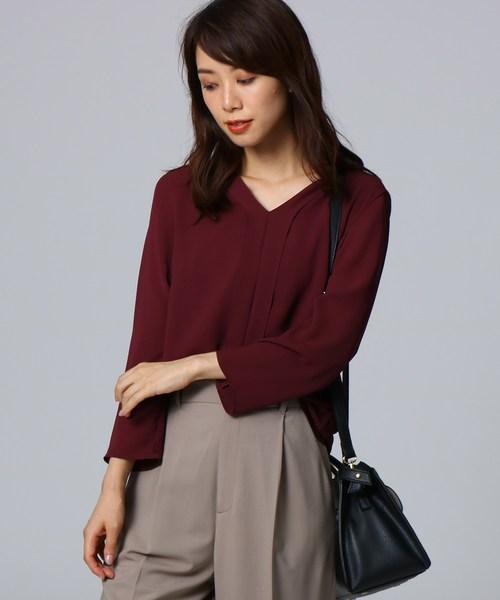 輝く高品質な Yラインジョーゼットプルオーバー(Tシャツ/カットソー)|UNTITLED(アンタイトル)のファッション通販, 産地問屋の 【サクラ陶器 】:3df2f89e --- kraltakip.com