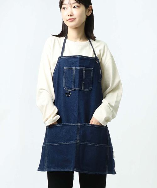 【 Nanea / ナネア 】胸ポケット付きエプロン 1055714