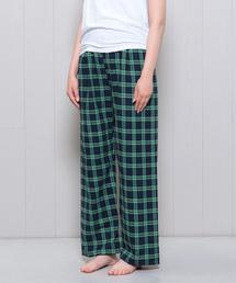<MAGEE>CHECK NIGHT PANTS/パンツ.