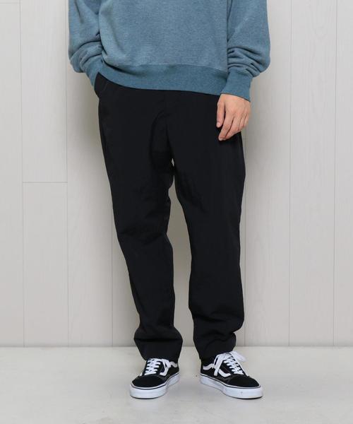 <H>NYLON RIPRIPSTOP BALLOON PANTS/パンツ
