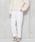 AULI(アウリィ)の「AULI タックパンツ(パンツ)」|オフホワイト