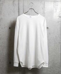 WEGO(ウィゴー)のWEGO/【WEB限定】ワッフルラウンドロンT(Tシャツ/カットソー)