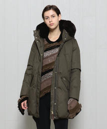 <WOOLRICH>COCOON HOODED COAT/コート