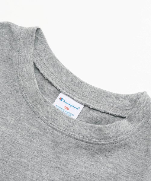 Championサガラワッペン付きTシャツ(ジュニア)