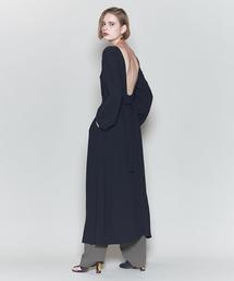 <6(ROKU)>BELT MAXI DRESS/ワンピース