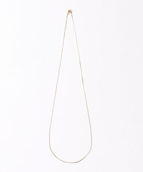 <monkey time> SINGLE CHAIN NECKLACE/ネックレス