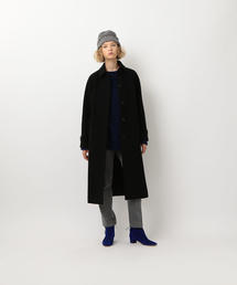 <Steven Alan>∴MELTON LONG SOUTIEN COLLAR COAT/ステンカラーコート