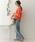 URBAN RESEARCH DOORS(アーバンリサーチドアーズ)の「レーストリミングキャンディプルオーバー(シャツ/ブラウス)」|詳細画像