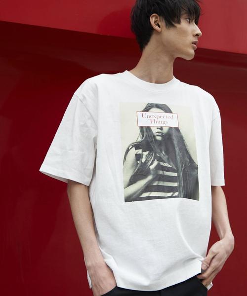ビッグシルエットプリントTシャツ2(UTILITY LINE)
