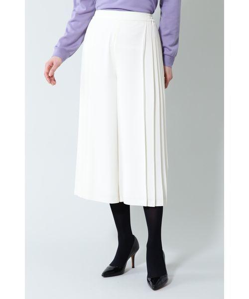爆売り! 【セール】《B ability》サイドプリーツワイドパンツ(パンツ)|BOSCH(ボッシュ)のファッション通販, ギガメディア:ed89efcf --- steuergraefe.de