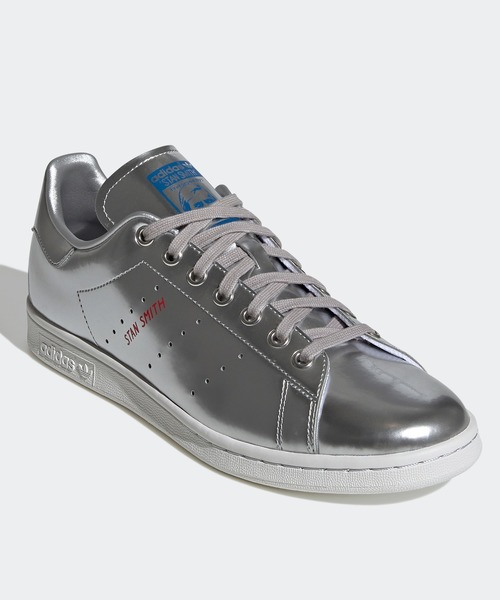 adidas(アディダス)の「スタンスミス [STAN SMITH] アディダスオリジナルス(スニーカー)」|シルバー