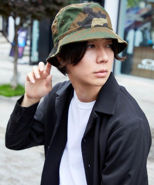【newhattan】 ニューハッタン バケットハット COTTON BUCKET HAT