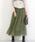 Social GIRL(ソーシャルガール)の「チュールフレアボリュームロングスカート(スカート)」 カーキ