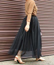 Social GIRL(ソーシャルガール)のチュールフレアボリュームロングマーメイドスカート(スカート)