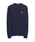 Paul Smith(ポールスミス)の「SPORTS STRIPE ZEBRA CREW NECK SWEATER / 282400 169SZ(ニット/セーター)」|ネイビー