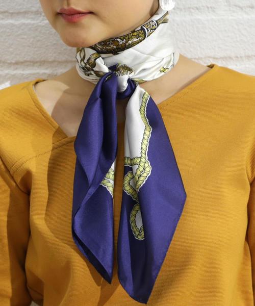 FFC マリンPRT シルク / スカーフ