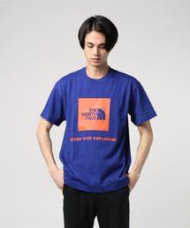 THE NORTH FACE(ザノースフェイス)のTHE NORTH FACE レイジショートスリーブボックスロゴティー RAGE S/S Box Logo Tee NT31964(Tシャツ/カットソー)
