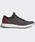 adidas(アディダス)の「ピュアブースト [PureBOOST] ランニングシューズ(スニーカー)」|ブラック×レッド