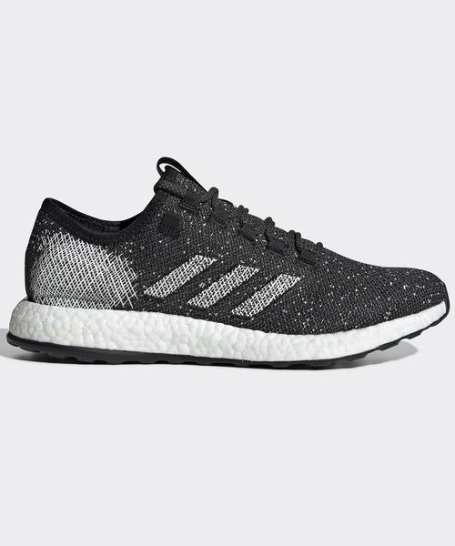 adidas(アディダス)の「ピュアブースト [PureBOOST] ランニングシューズ(スニーカー)」|ブラック