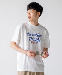 レタードプリントTシャツ