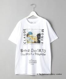 【別注】<TAGS WKGPTY>× <THE NATIONAL GALLERY> Monet/Tシャツ