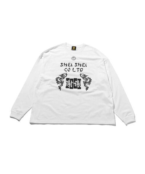 <shei shei co.LTD> DRAGON LS TEE/カットソー