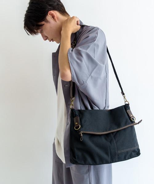 【WEB限定】【DEVICE/デバイス】2WAYショルダー ショルダーバッグ 斜めがけトートバッグ キャンバス