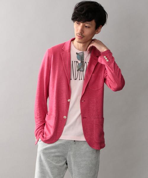 信頼 【セール】【LOVELESS】MENS リネンカットソージャケット(Tシャツ/カットソー) MENS,ラブレス|LOVELESS(ラブレス)のファッション通販, ワイン蔵 まるほん:12be1f1c --- fahrservice-fischer.de