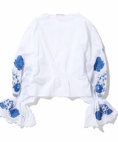 LEVI'S(R) MADE & CRAFTED(R) ブラウス FLOUNCE TOP BRIGHT WHITE