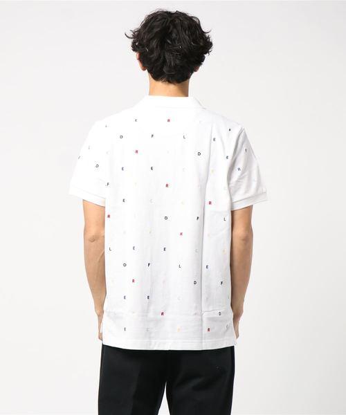Red Fleece コットンピケ エンブロイダリー ポロシャツ