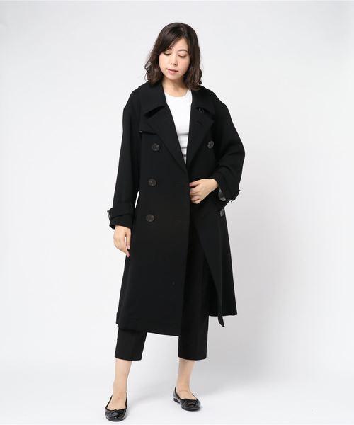 直送商品 Robes&Confections Matte/ローブス&コンフェクションズ Cloth/Double Cloth Worsted Trench Matte Trench Coat/BRC-C01-100F(ピーコート)|ROBES&CONFECTIONS(ローブスコンフェクションズ)のファッション通販, ナミノソン:16433d4d --- blog.buypower.ng
