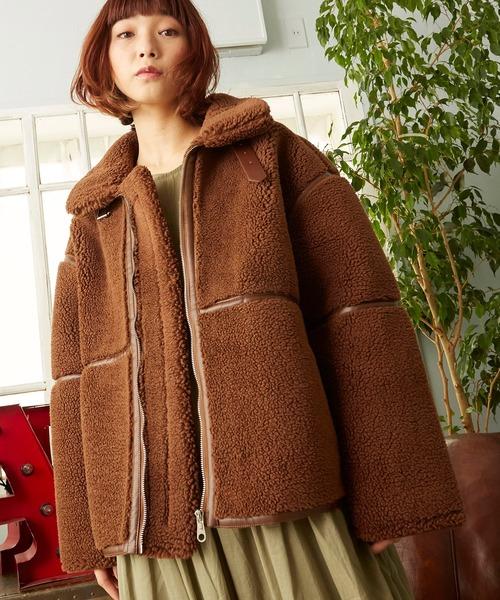 世界的に有名な オーバーサイズボアジャケット ビッグシルエットボアジャケット(ブルゾン)|unrelaxing(アンリラクシング)のファッション通販, オノミチシ:bee58b89 --- skoda-tmn.ru