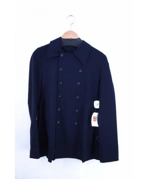 注文割引 【ブランド古着】ウールギャバダブルシャツジャケット(その他アウター)|Y