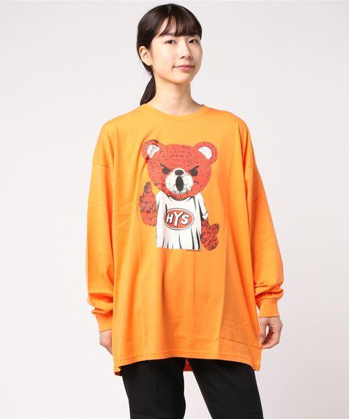 BEAR MASTER オーバーサイズTシャツ