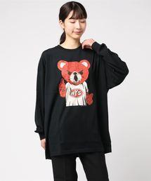 BEAR MASTER オーバーサイズTシャツブラック
