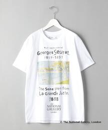 【別注】<TAGS WKGPTY>× <THE NATIONAL GALLERY> Seurat/Tシャツ