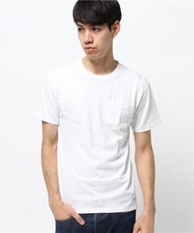 schott(ショット)のSchott/ショット/CREW NECK POCKET T SHIRT/ クルーネック ポケットTシャツ (430)(Tシャツ/カットソー)