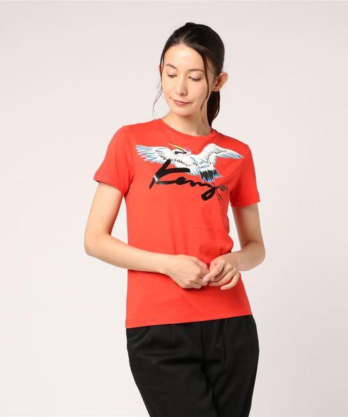 Memento Crane Signature Logo T-shirt