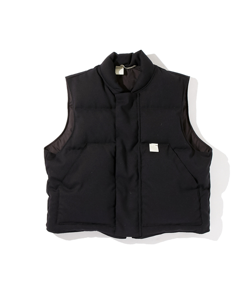 N.HOOLYWOOD AUTUMUN & WINTER 2018 COLLECTION LINE DOWN FILLED VEST