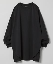 JEANASIS(ジーナシス)のシャツテイルBIGロンT/826709(Tシャツ/カットソー)