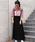 Auntie Rosa Holiday(アンティローザホリデー)の「【Holiday】ハイゲージニットマキシスカート(スカート)」|詳細画像