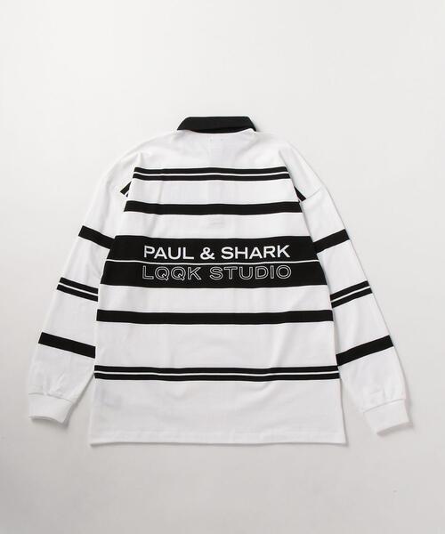 LQQK Studio for Paul & Shark STRIPE SHIRT