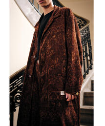 <SMITH'S AMERICAN × monkey time> PAISLY PRINT COAT/ワークコート